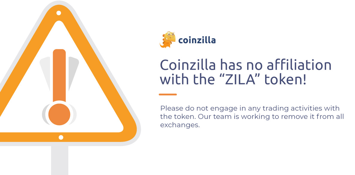 Official Statement about the Coinzilla Fake Token