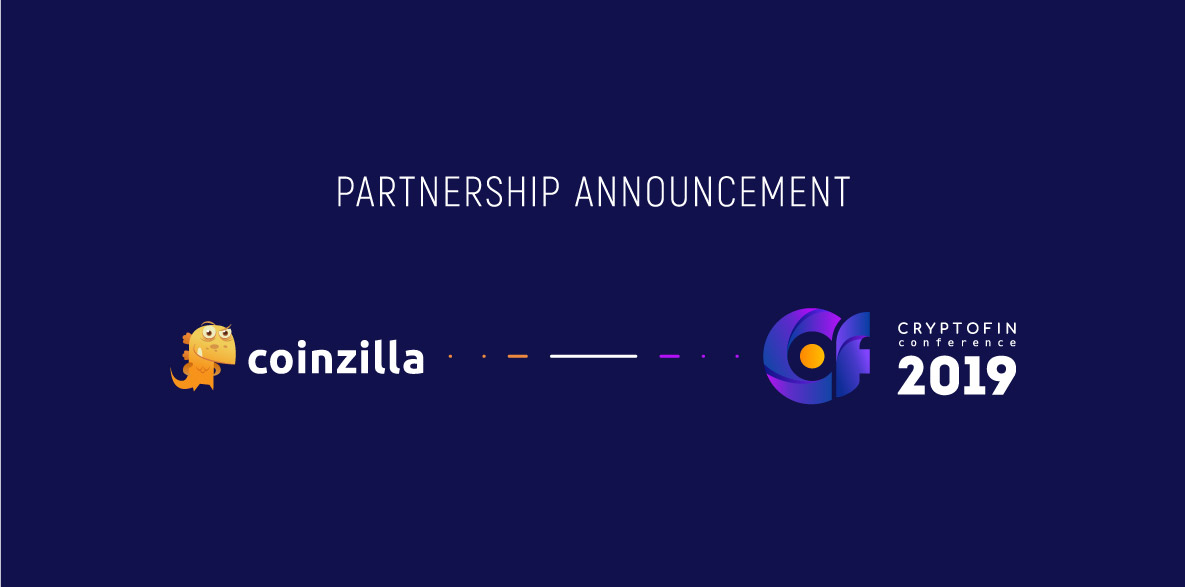 Partnership Announcement – CryptoFin Conference 2019