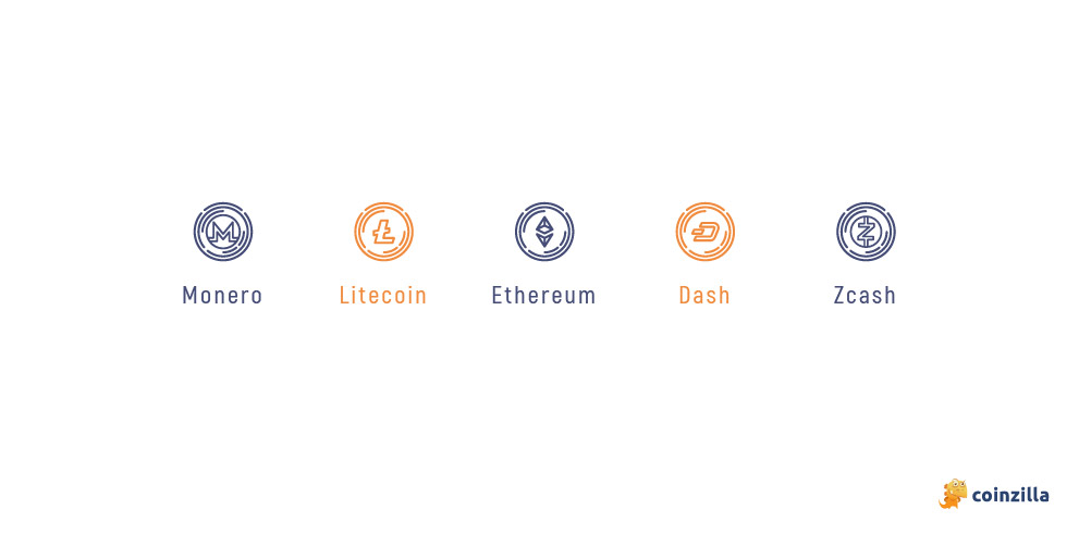 examples of altcoins